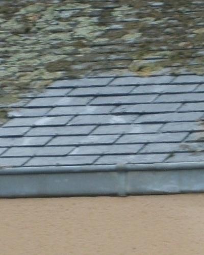 Démoussage toitures bâtiments