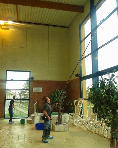 Nettoyage de vitres intérieures